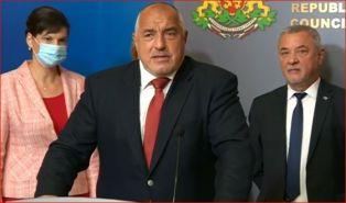 Борисов и Симеонов: Ще продължим управлението до завършването на мандата