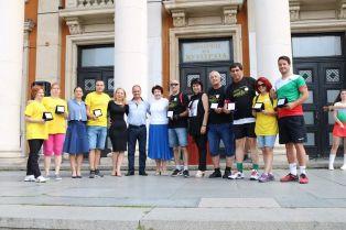 Юбилейни плакети  от кмета на Перник  за спортисти