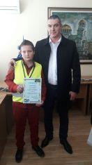 Петокласник от Радомир втори в конкурс за рисунка