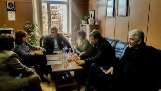 Шефката на Езиковата събра депутати от пернишки регион и поиска подобряване на базата на училището