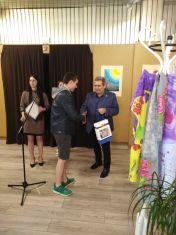 Алексиев награди младите художници на Радомир