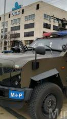 Военна техника на площада днес