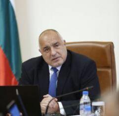 Борисов депозира оставката на правителството
