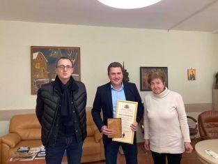 Владимиров получи удостоверението за съкровището