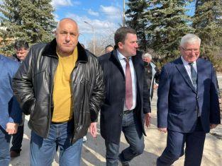 Борисов в Перник. Ето за какво