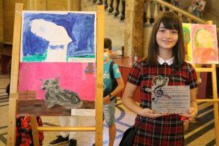 "Наградиха най-добрите млади художници от ""XIII Конкурс за детска рисунка – Перник 2020""."